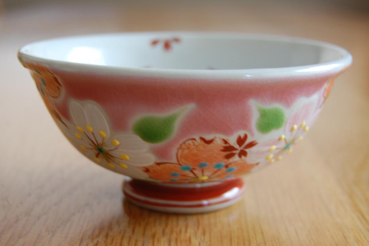 飯碗 桜の宴ピンク