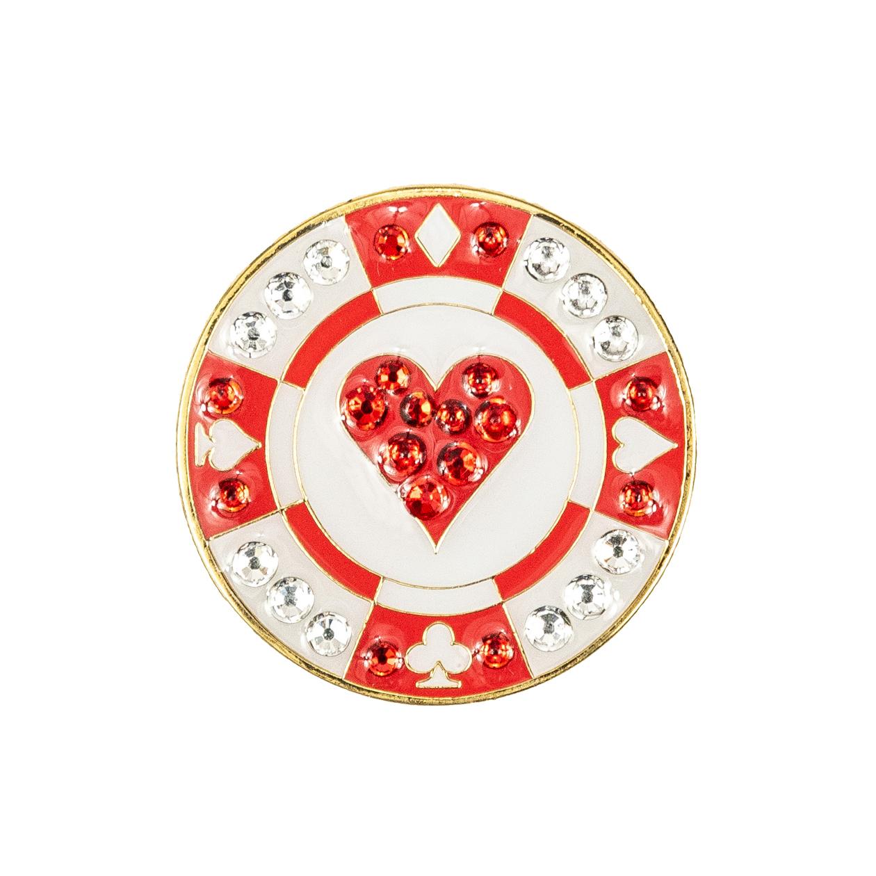 52. Poker Chip Heart