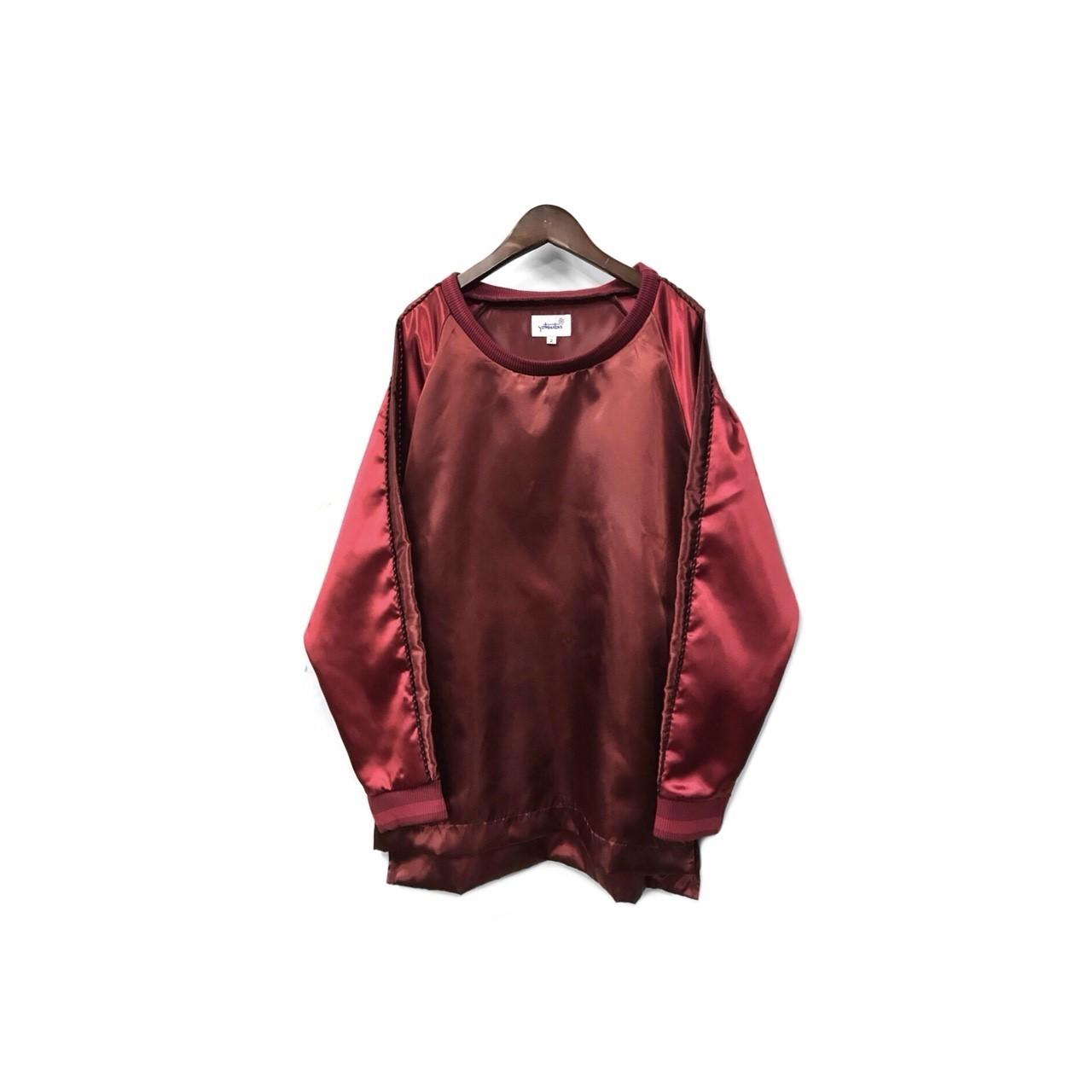 yotsuba - Souvenir Pullover Tops / Wine Red ¥18000+tax