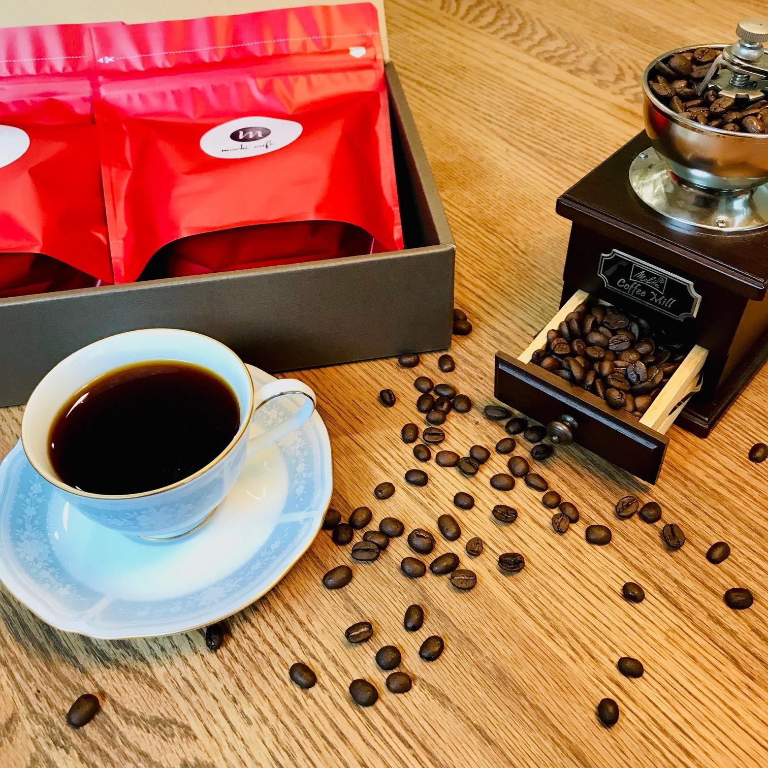 自家焙煎珈琲 mochi cafe 200g×2 オリジナルブレンドギフトセット