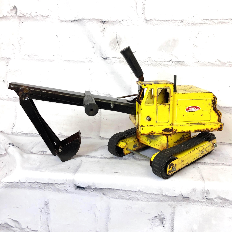 品番1454 Tonka トンカ ショベルカー ブリキ おもちゃ ヴィンテージ