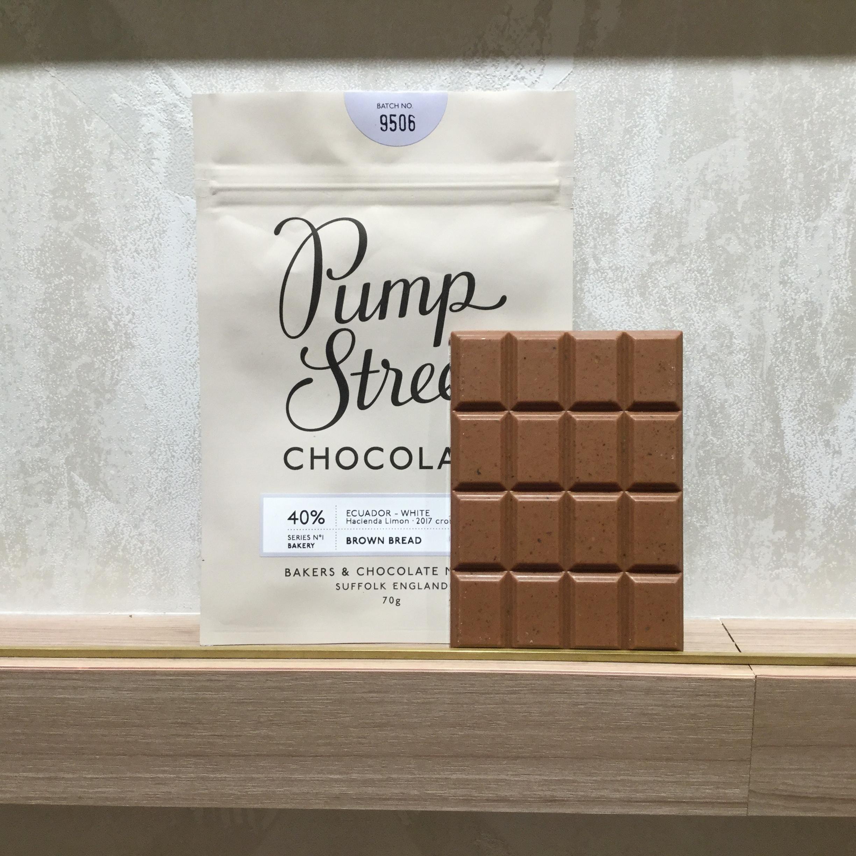 【Pump Street bakery CHOCOLATE/パンプストリートチョコレート】40% ブラウンブレッド