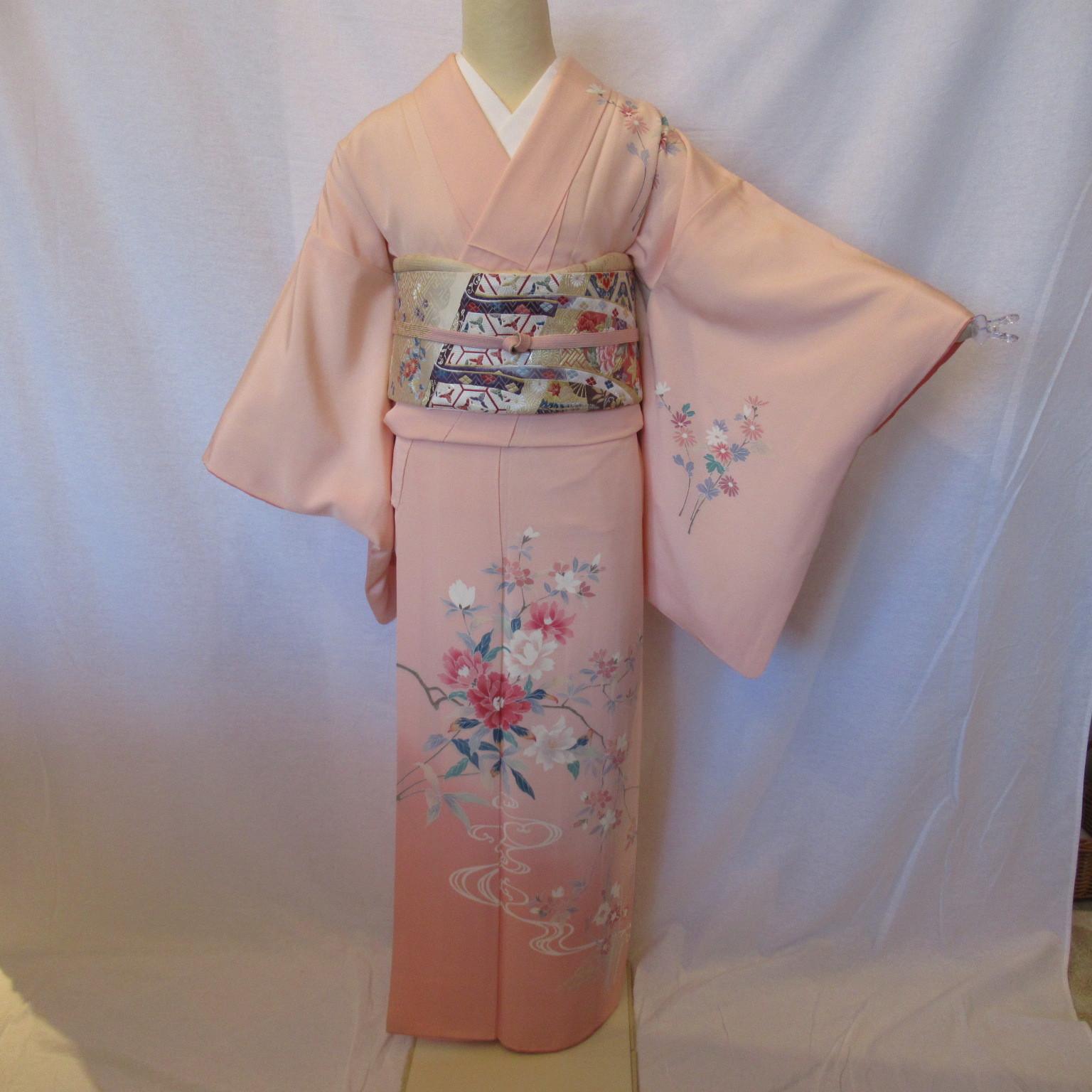 加賀友禅訪問着1336と西陣織袋帯2点セット