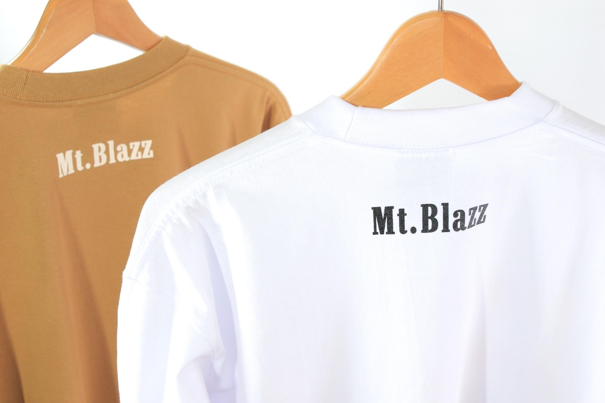 M't Blazz PROCLUB HEAVY L/S TEE [BROWN]