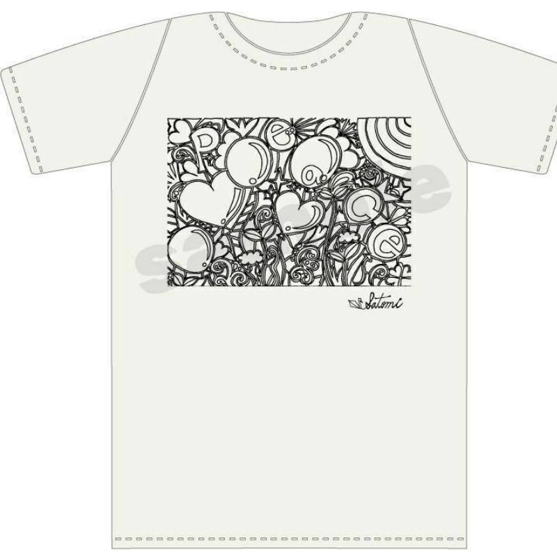 T-Shirts Peace&Balloons Size-M