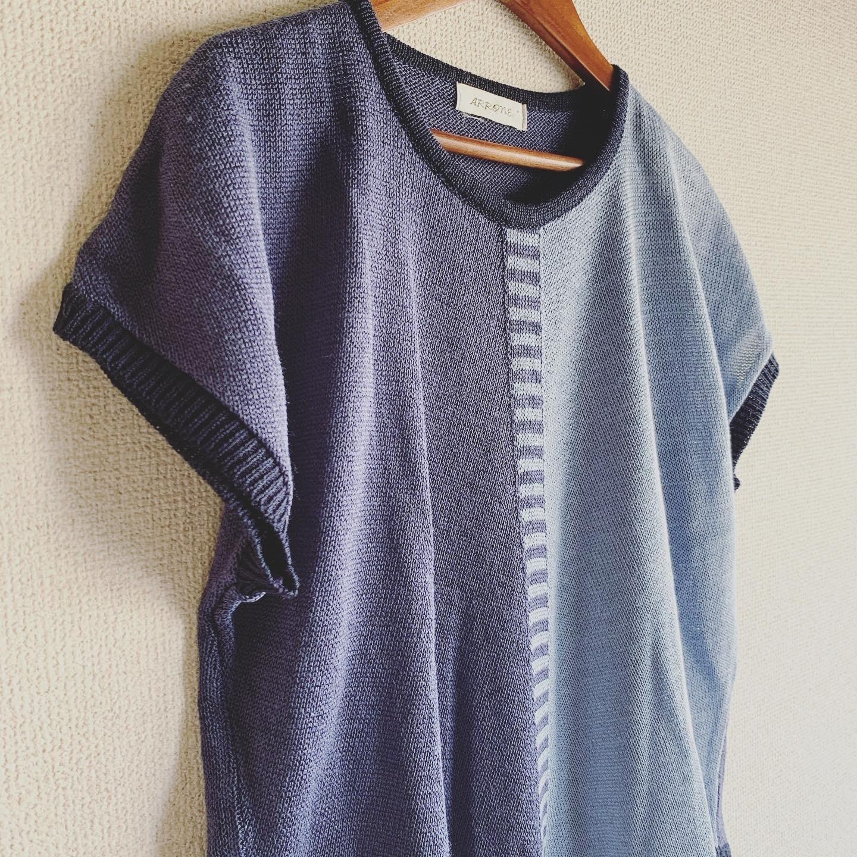 vintage design summer knit tops
