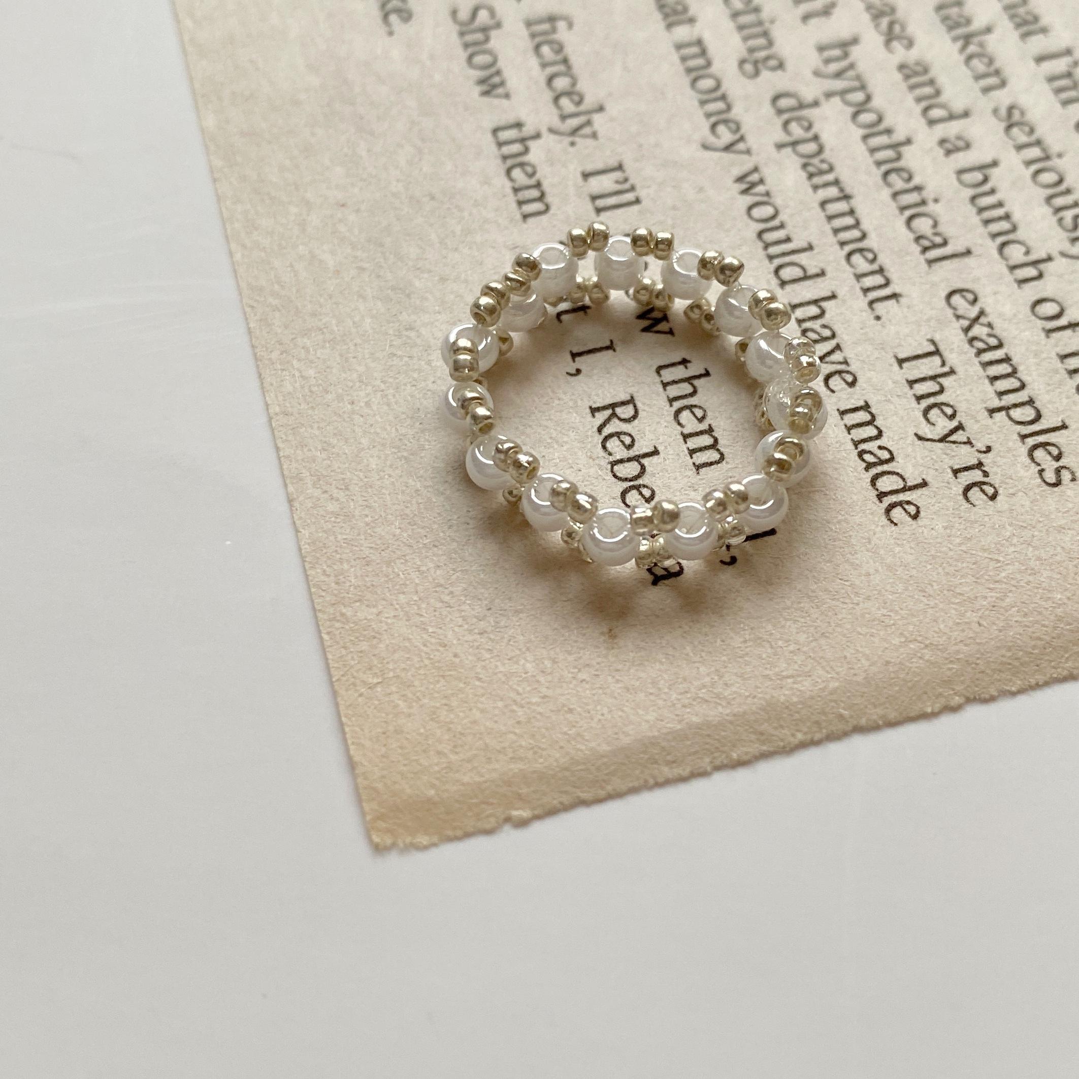 star beads ring