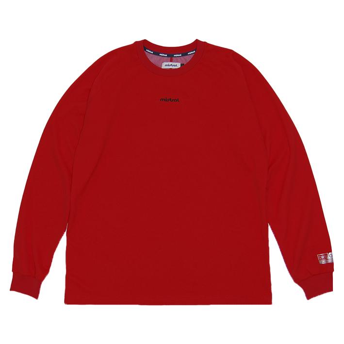 ミストラル メンズ [ HP-DRY 長袖Tシャツ -ベーシック- ] RED