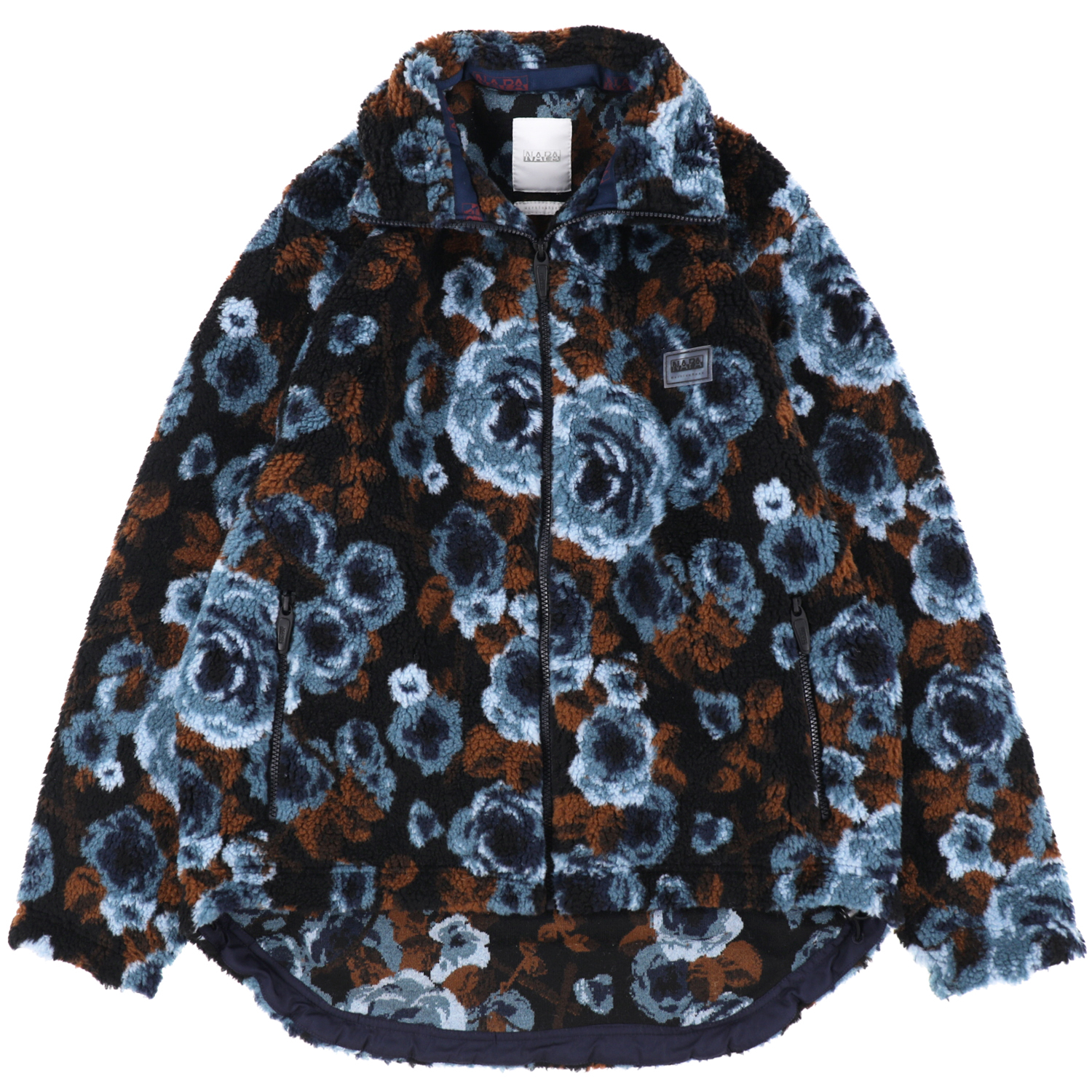 NAPA BY MARTINE ROSE  / T-EMIN JACQUARD JKT  PRINT FANTASY / BLUE