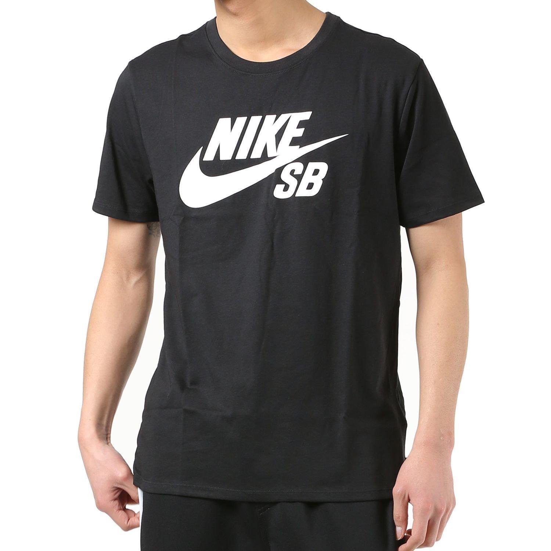 NIKE SB (ナイキ エスビー) ドライフィット ロゴ Tシャツ BLACK (ブラック) 821947-100