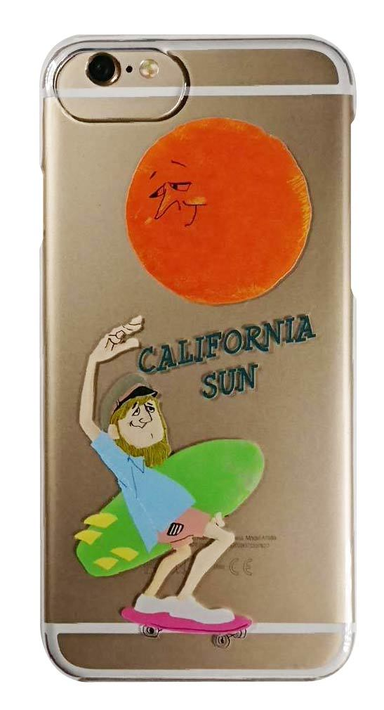 california sun クリアハードケース