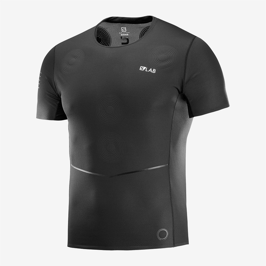 Salomon サロモン メンズ Men S/LAB NSO TEE M LC1044700 BLACK / BLACK