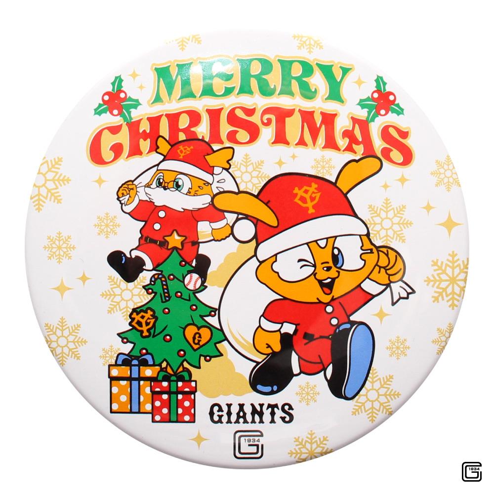ジャイアンツ クリスマス2018 ドデカ缶バッジ