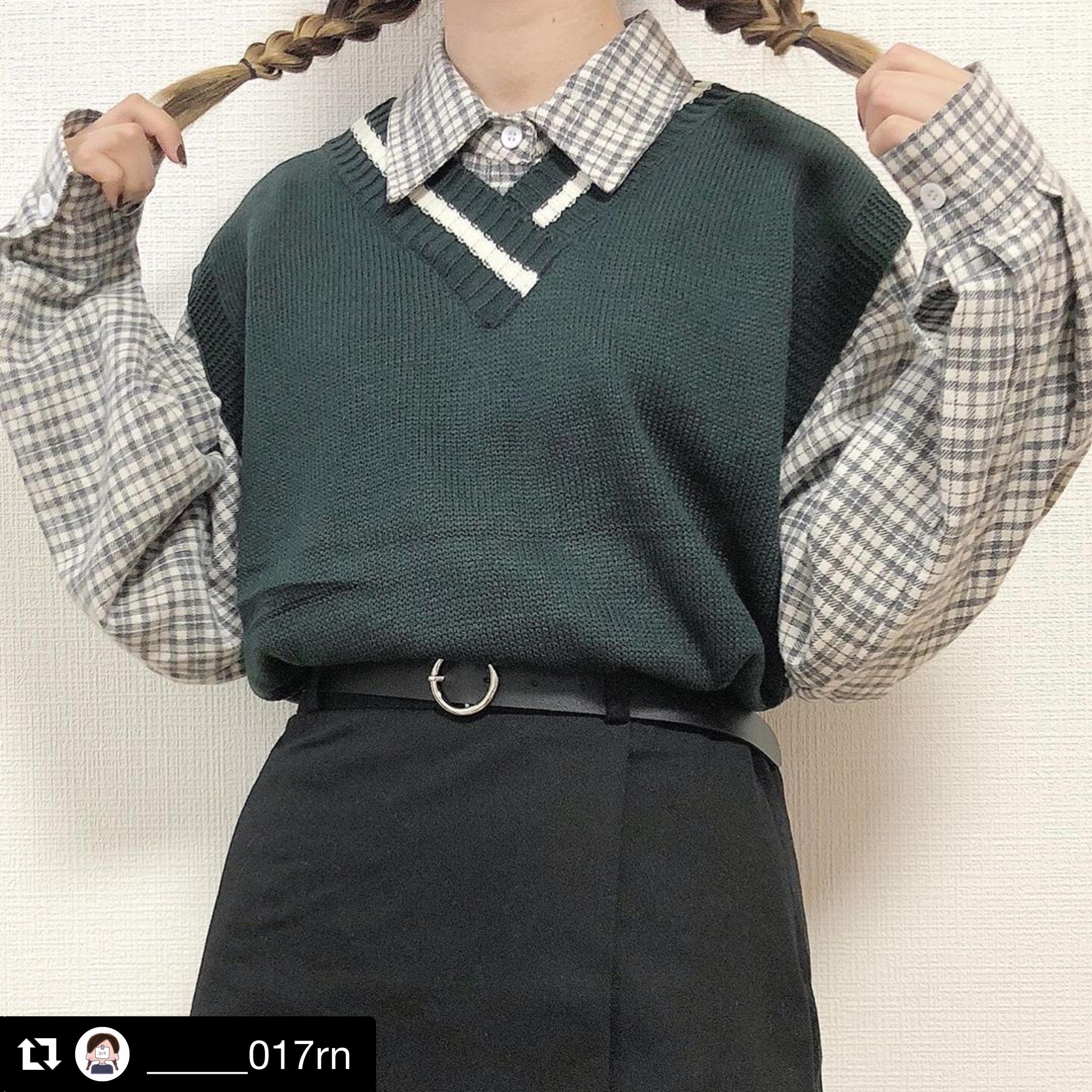 【送料無料】 たっぷりボリューム♡ プルオーバー ビッグシルエット チェック シャツ トップス ボリューム袖