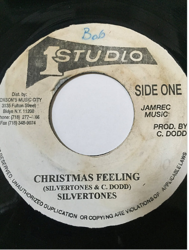 Silvertones(シルバートーンズ) - Christmas Feeling【7'】