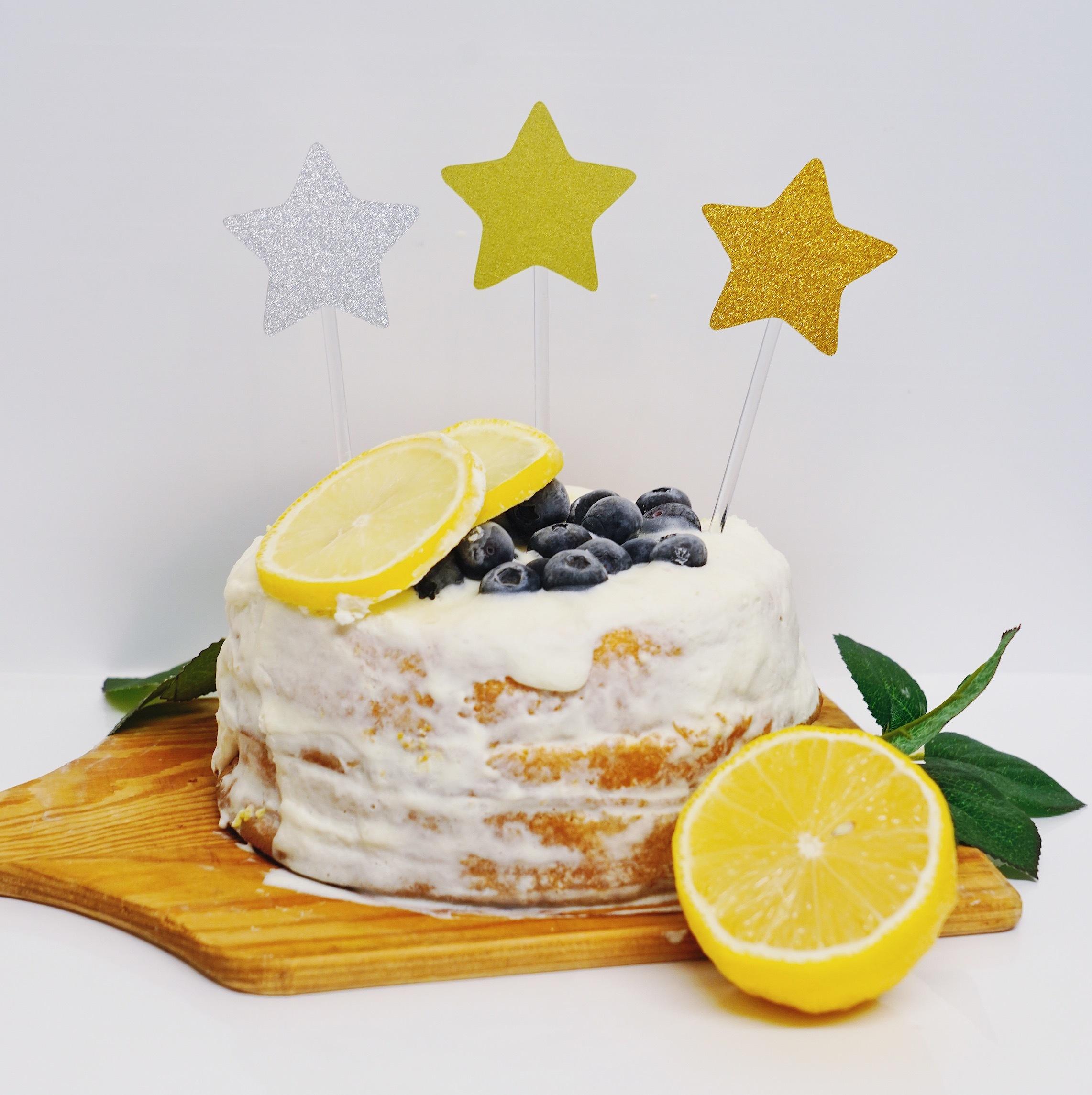 スターケーキトッパー  誕生日 飾り付け