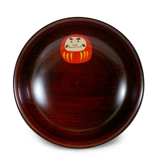 手塩皿4.0木地溜ダルマさん(24)