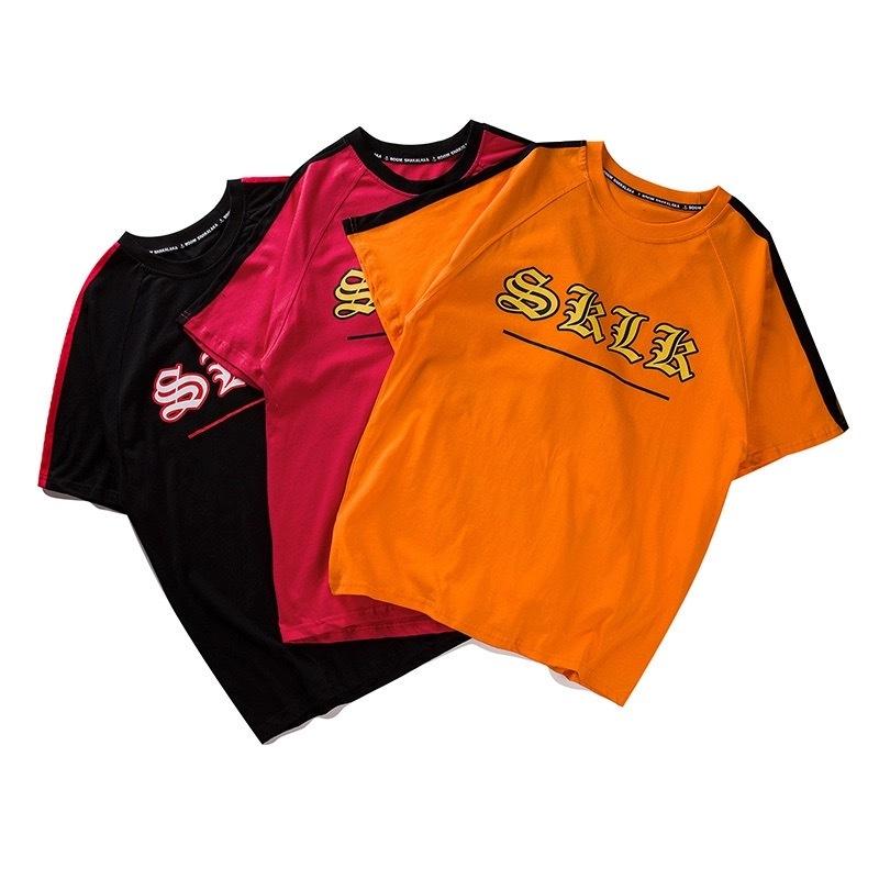 [売れ筋]SKLKデザインTシャツ 3カラー