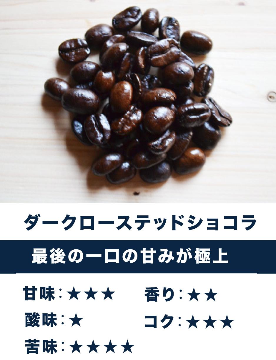 ショコラ ☆苦味・香り系☆ 芳ばしい香り、深い苦み(ミルクも合います)