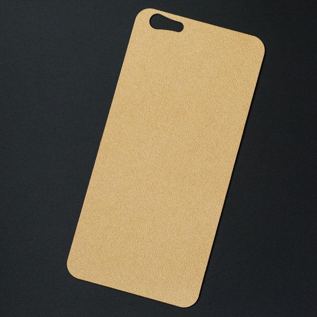 iPhone 7バックプレート アルカンターラ シャンパン