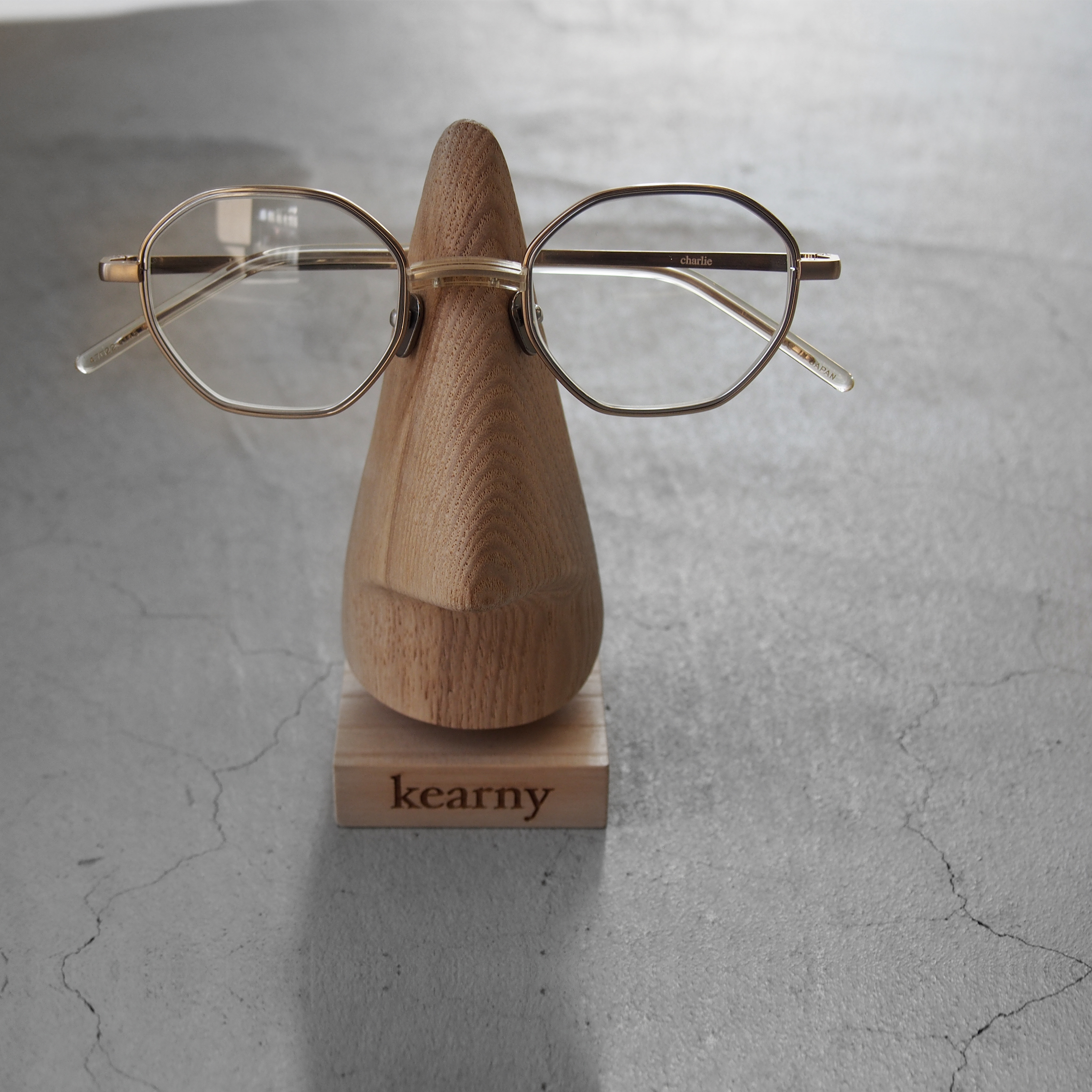 Kearny Charlie gold (clear lens)