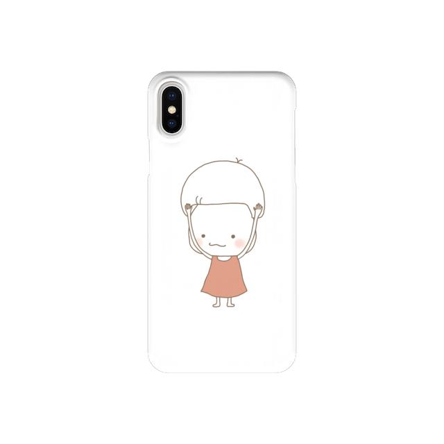 きのこさん、ちょっとね (iPhone case)