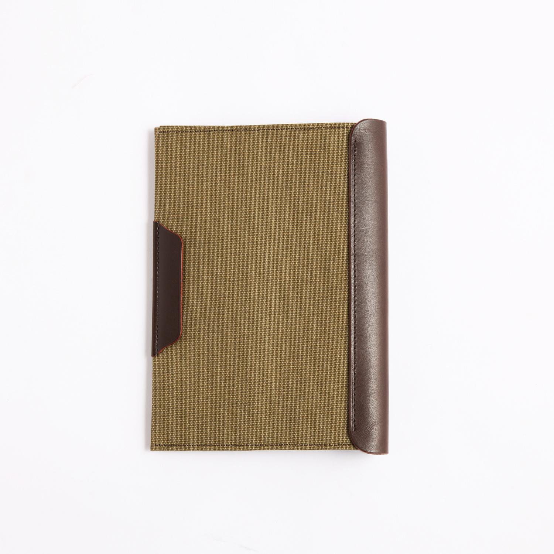 Postalco/Book Cover/Olive Green