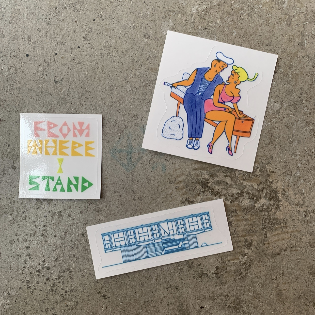 FWIS × NONCHELEEE - Sticker Pack