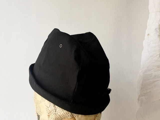 LINEN ROPE HELMA HAT | BLACK 【M】