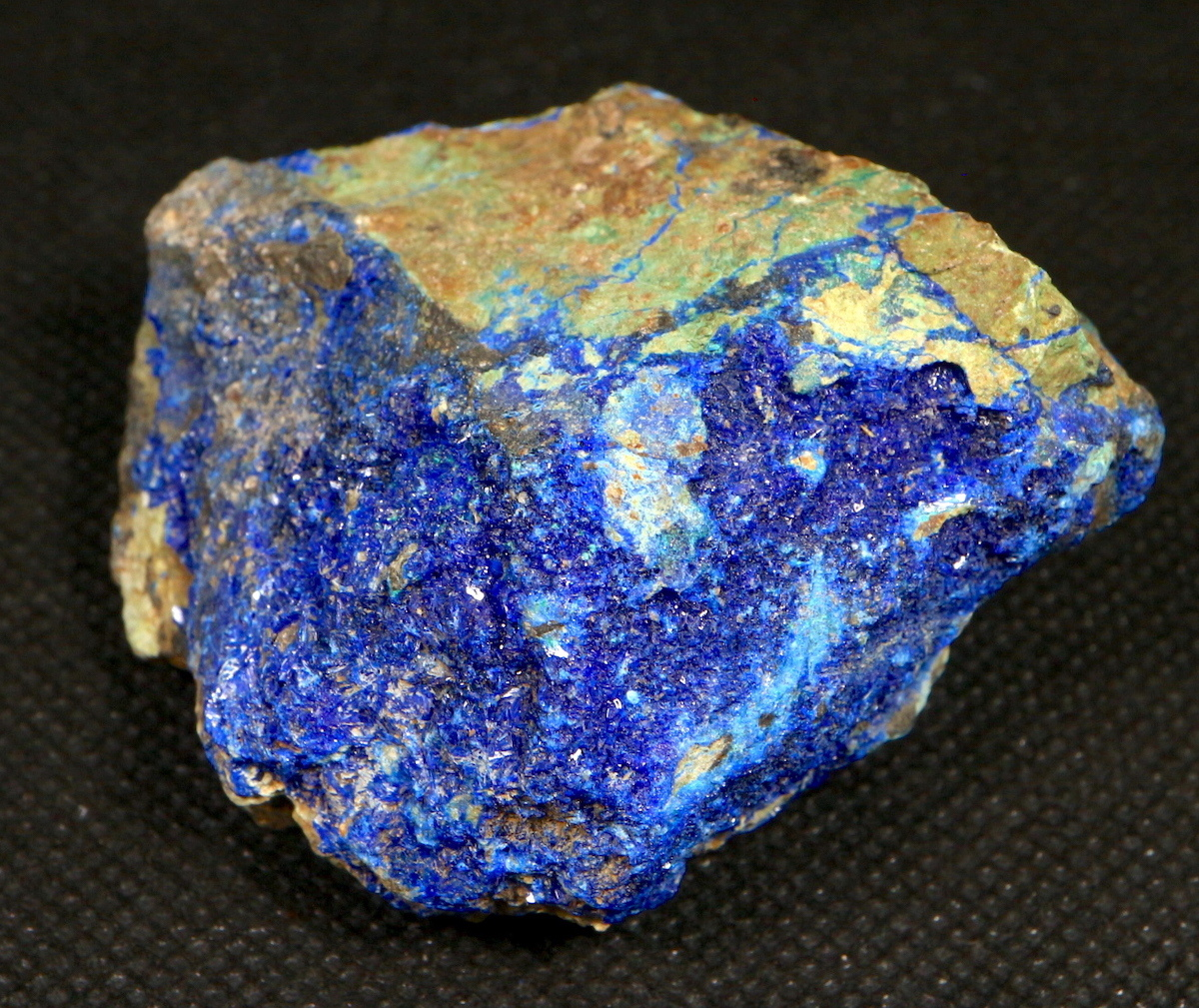 リナライト & カレドナイト 青鉛鉱 カレドニア石 112,3g LN011 鉱物 原石 天然石 パワーストーン