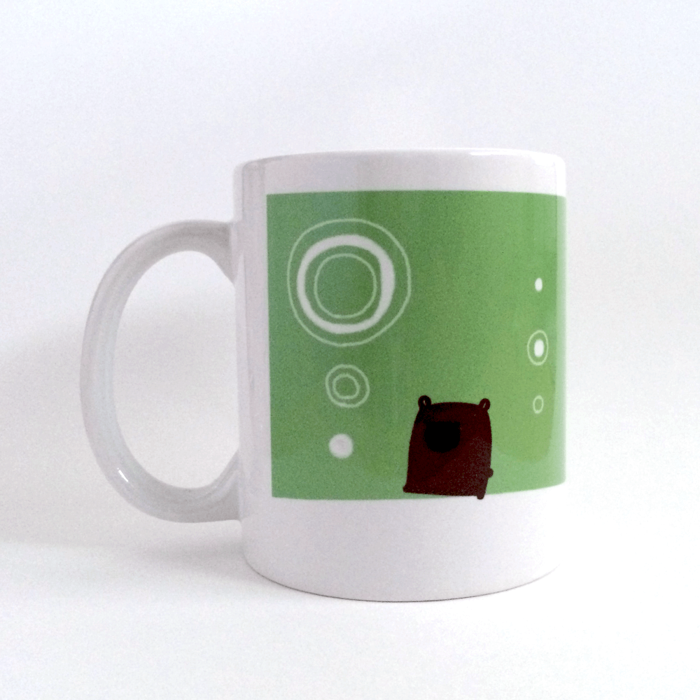 マグカップ: モカ&ブラック │ Caffeco*