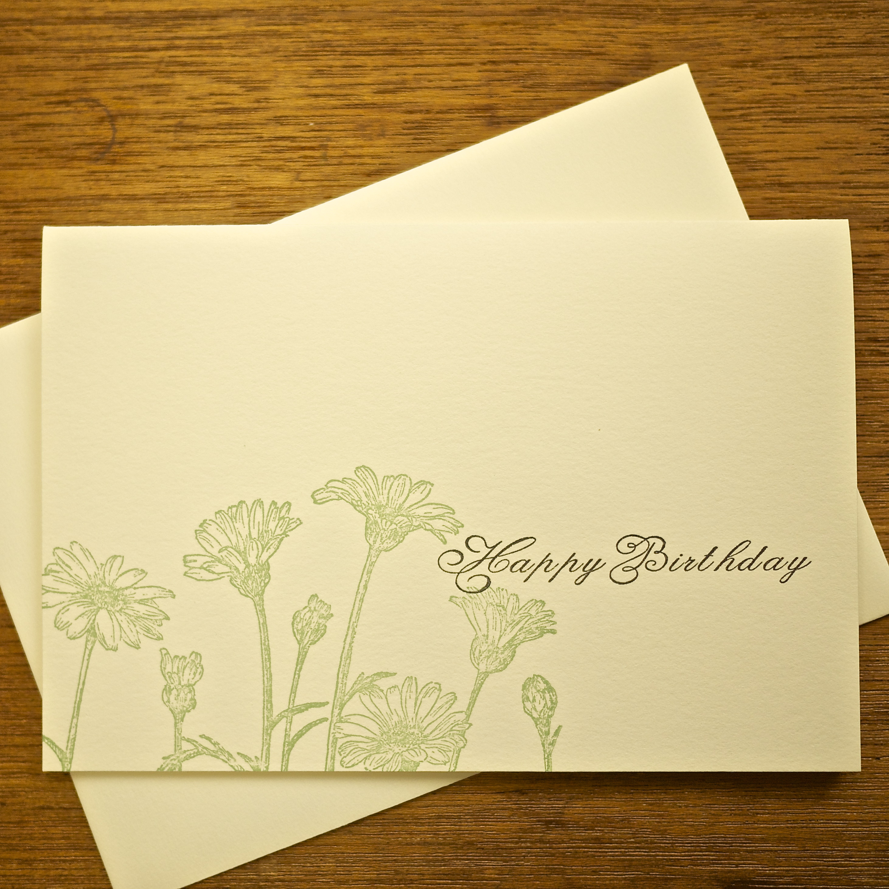 birthday card  マーガレット 148×105mm