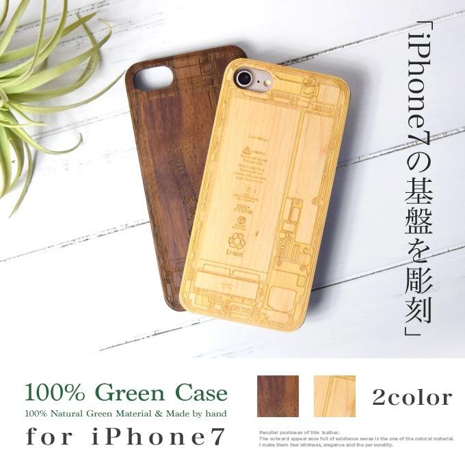 MARUHADAKA for iPhone7 ウッドケース - 画像1