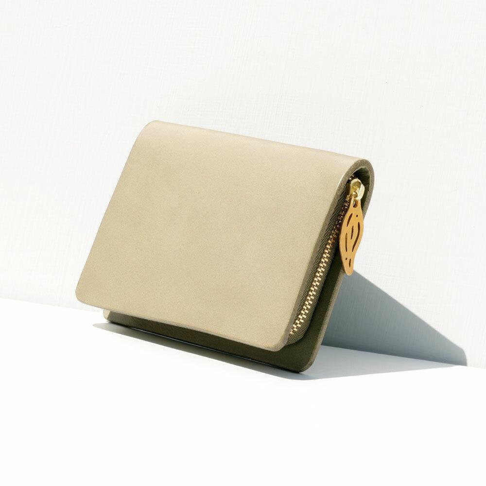 mu coin wallet (khaki)