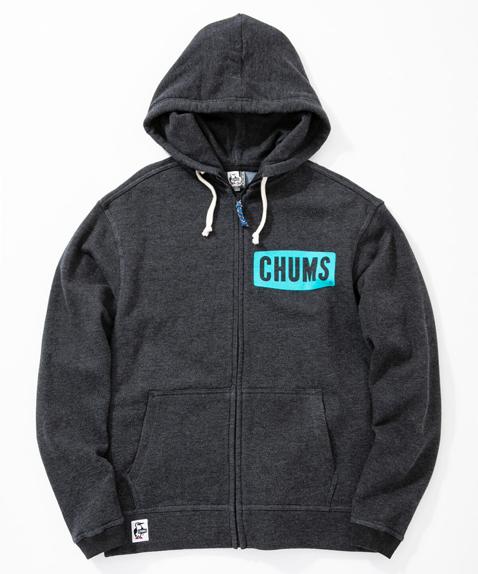 CHUMS(チャムス) Boat Logo Zip Parka (ボートロゴジップパーカー スウェット) H/Black (ヘザーブラック) CH00-1146