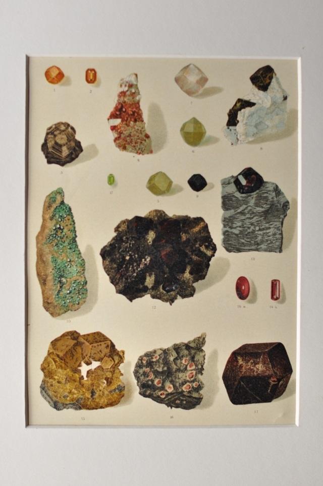 ドイツ鉱物図版1