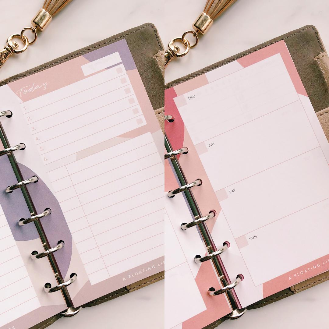 【ミニ6サイズ2種セットB】システム手帳リフィル