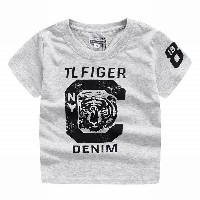 タイガー ロゴ半袖Tシャツ