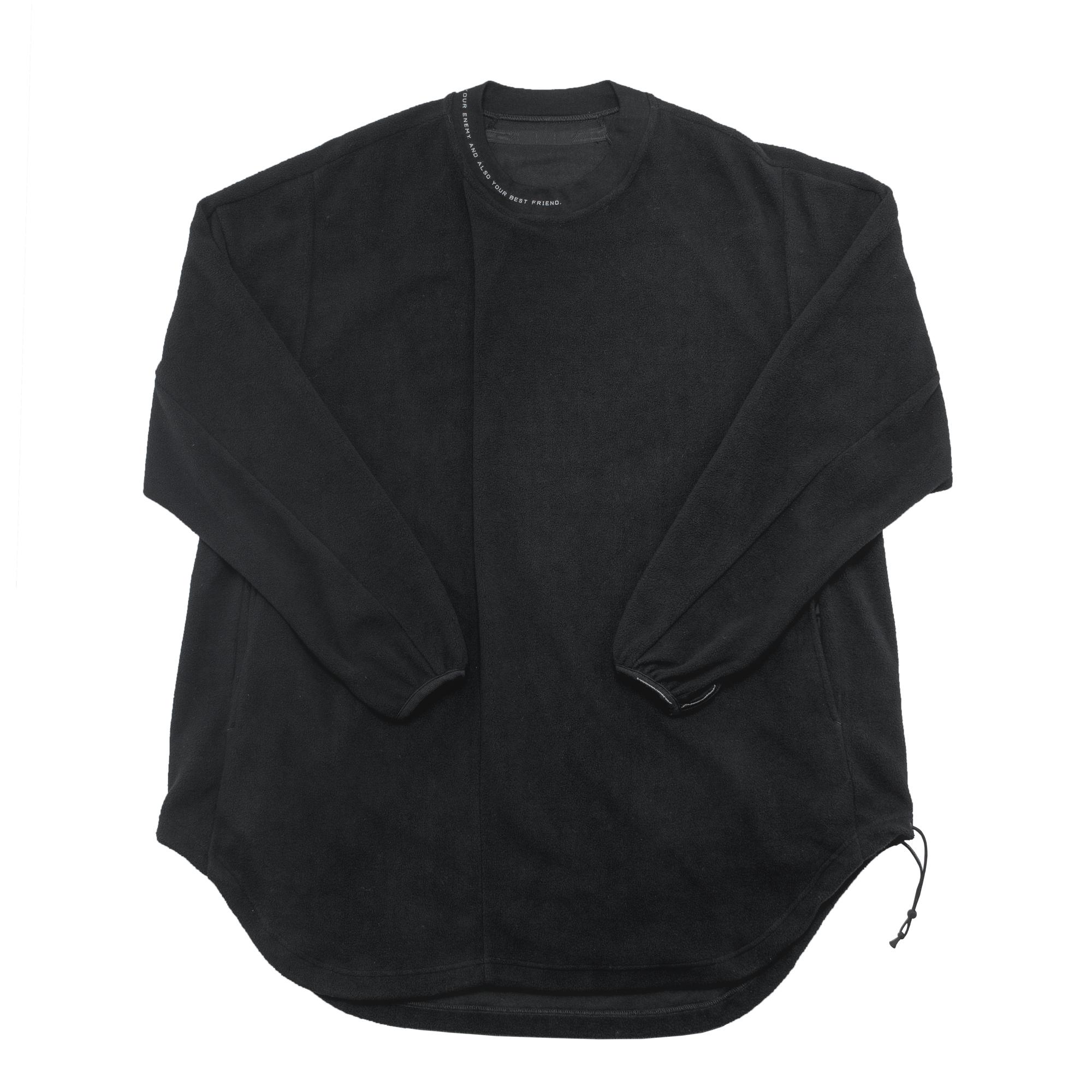 680CUM16-BLACK / タックドオーバーシャツ