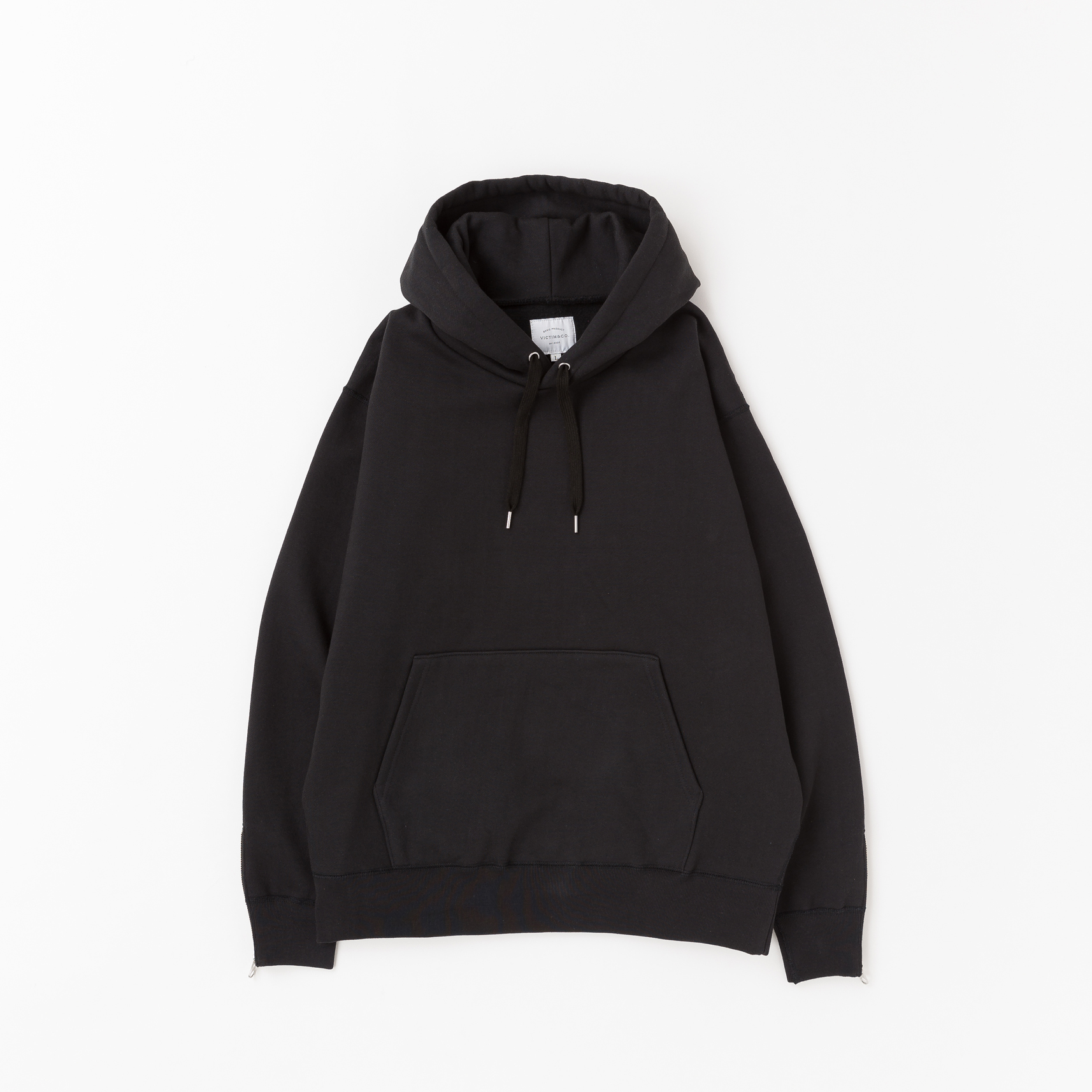 【VICTIM】HEAVY PULL OVER PARKA(BLACK)