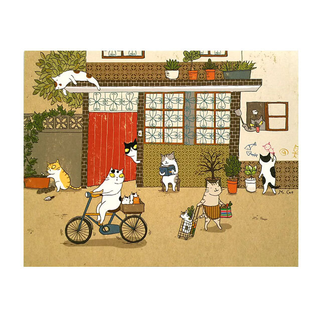 台湾ポストカード「舊時光」