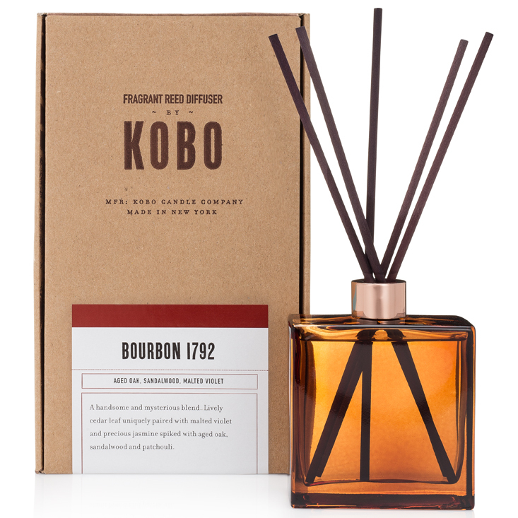 BOURBON 1792 - WOODBLOCK REED DIFFUSERS