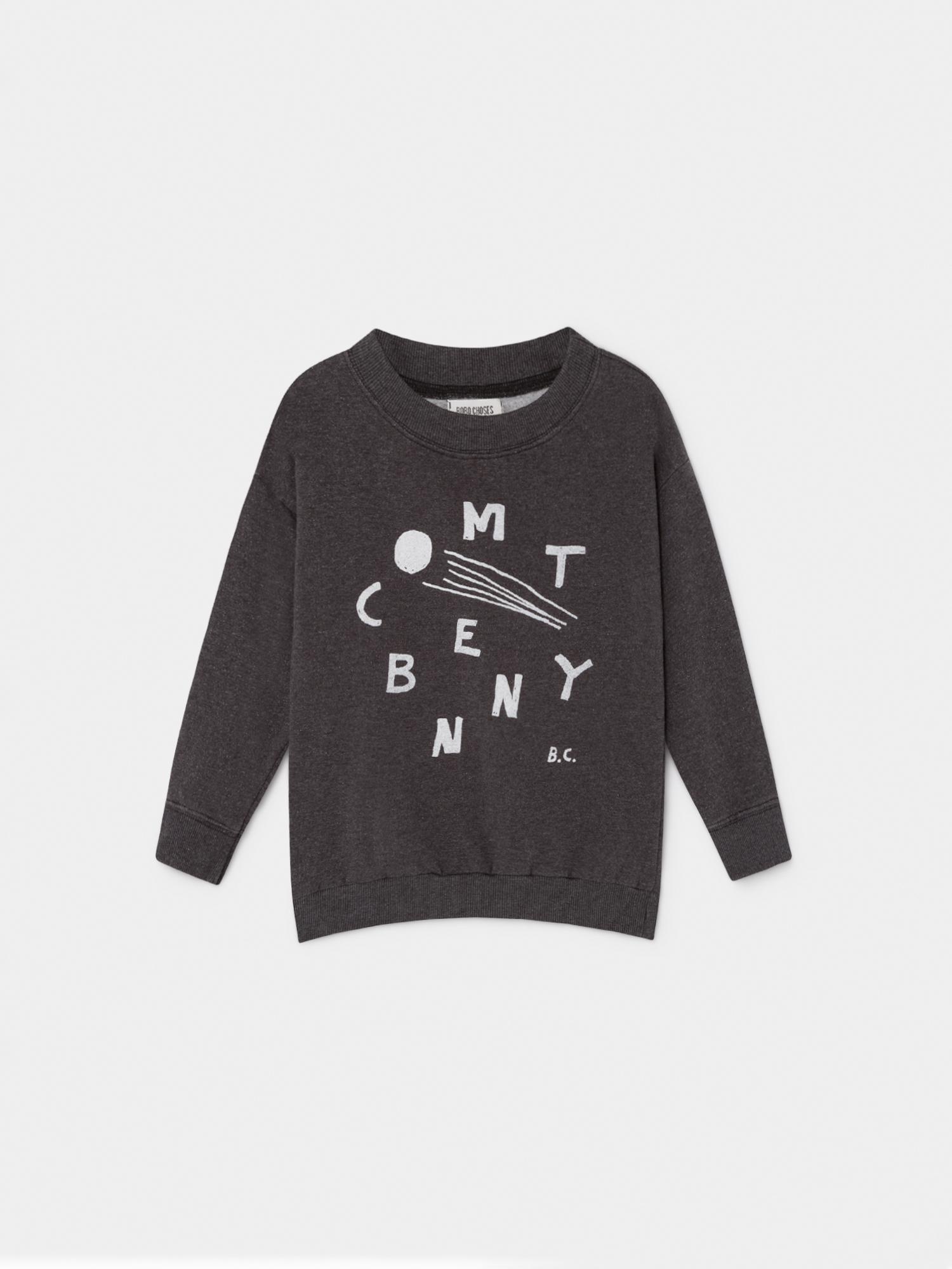 《BOBO CHOSES 2019AW》Comet Benny sweatshirt / 2-9Y