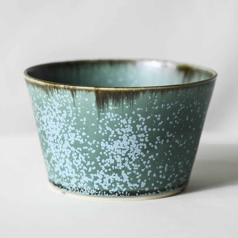Turquoise glaze basic pot(L)