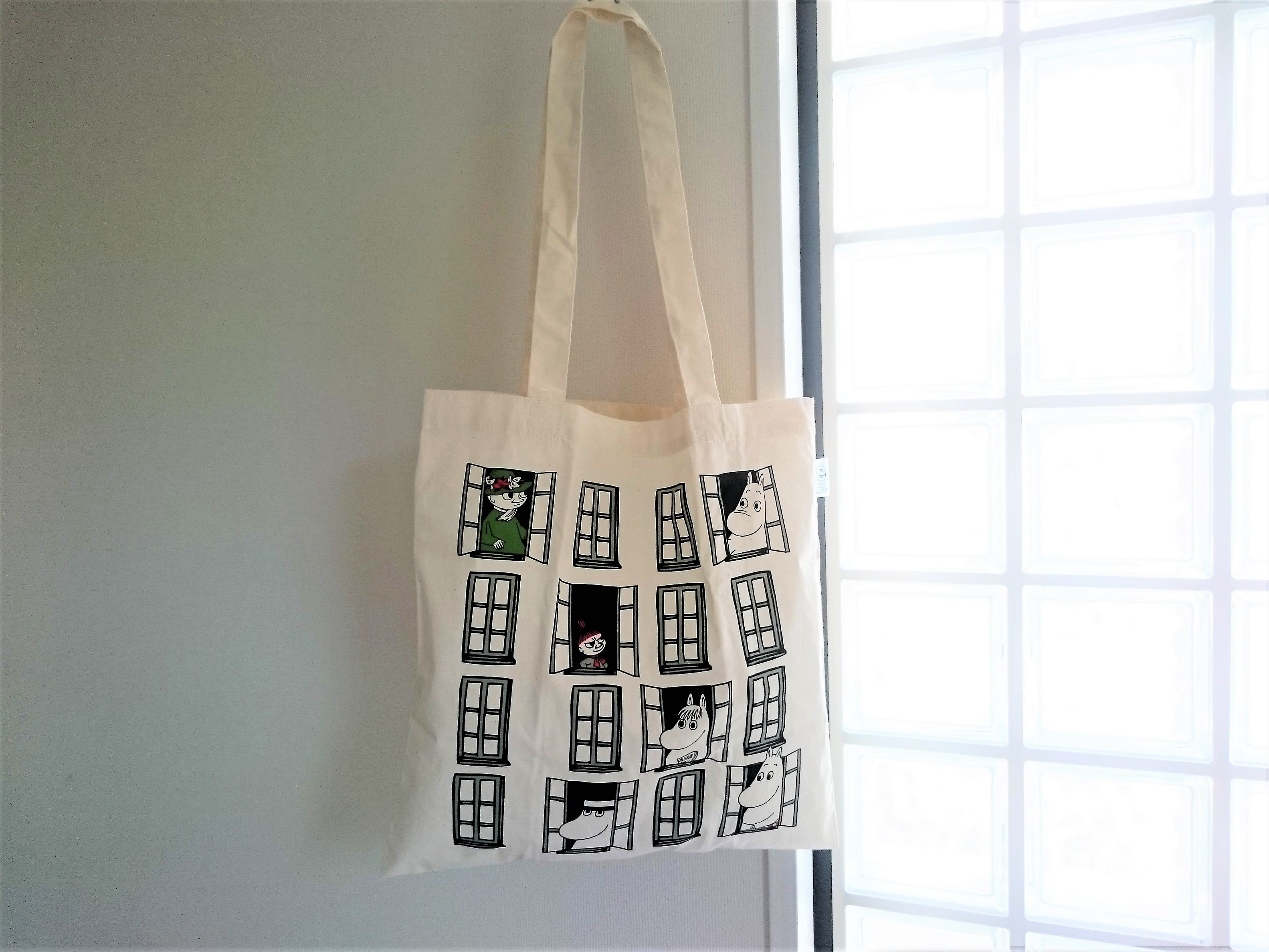 トートバッグ / ムーミン/ エコマーク付バッグ(窓)