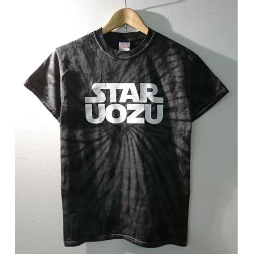 STAR UOZU Tシャツ ブラックスパイダー×ホワイト