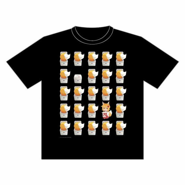 10月下旬お届け予定【4589839341462】世話やきキツネの仙狐さん Tシャツ
