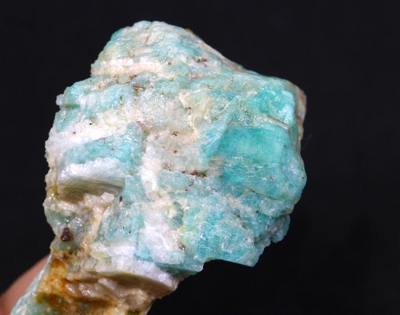 アマゾナイト モザンビーク産 原石 59,2g AZ0028 天河石(てんがせき) 鉱物 天然石