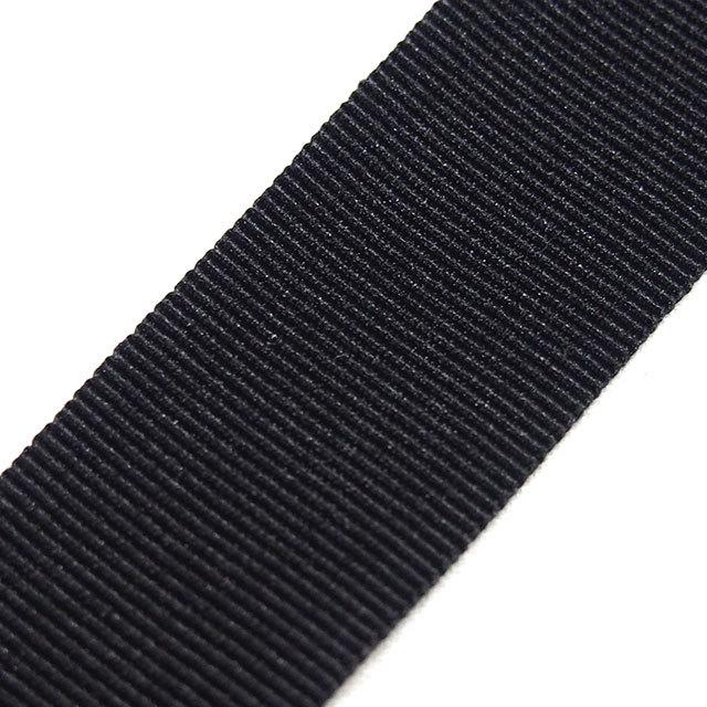 YKK グログランテープ 22㎜幅 黒 200m巻