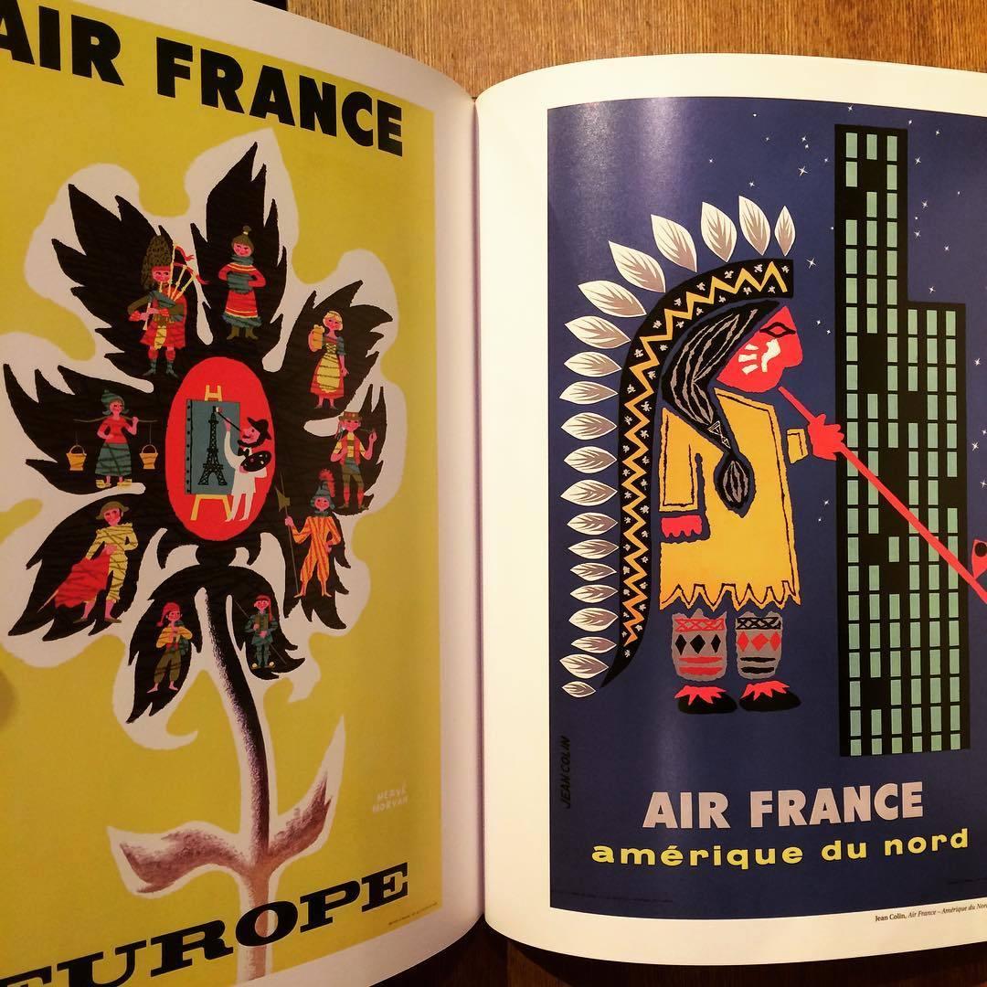 エールフランス ポスターデザイン集「Rêver le monde - Affiches Air France」 - 画像3